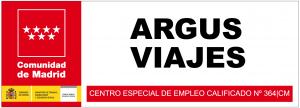 Argus Viajes. Centro especial de empleo. Calificado número 364 Comunidad de Madrid.