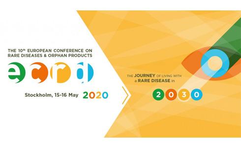 Cartel X Conferencia Europea de Enfermedades Raras y Medicamentos huérfanos