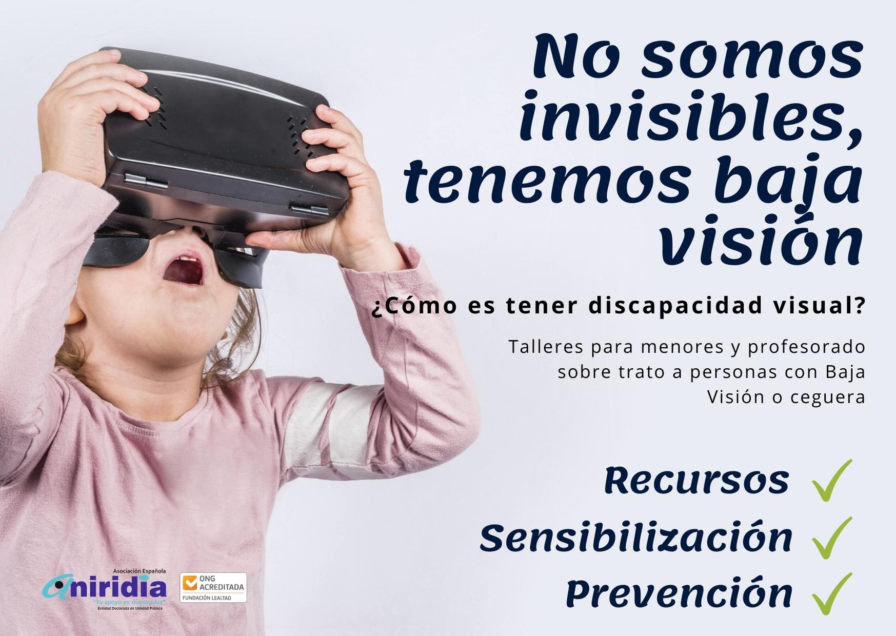 cartel promocional no somos invisibles