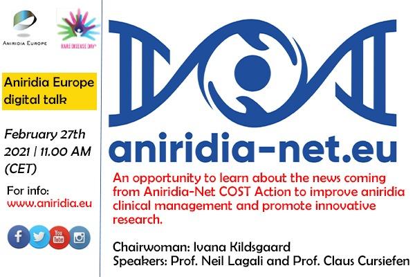 Aniridia net-.eu. Charla online por el día mundial de las enfermedades raras