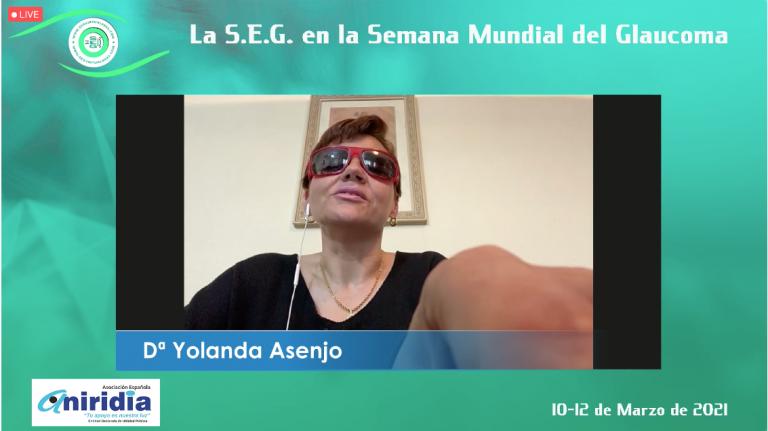 Yolanda Asenjo, presidenta AEA