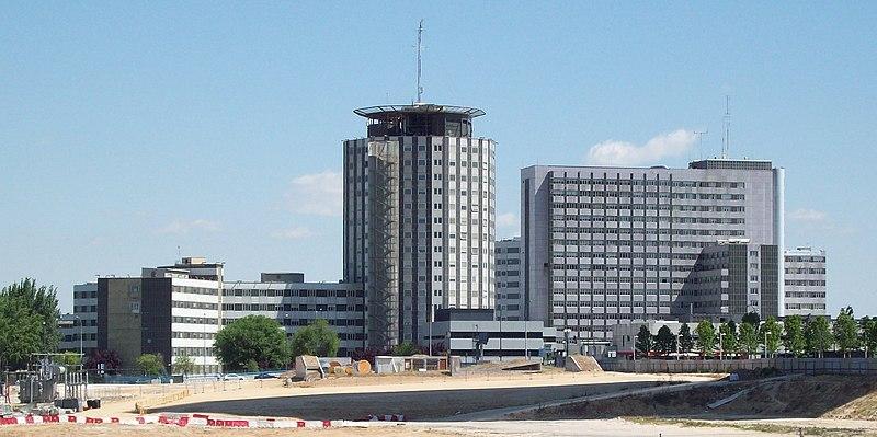 Vista general de Hospital La Paz