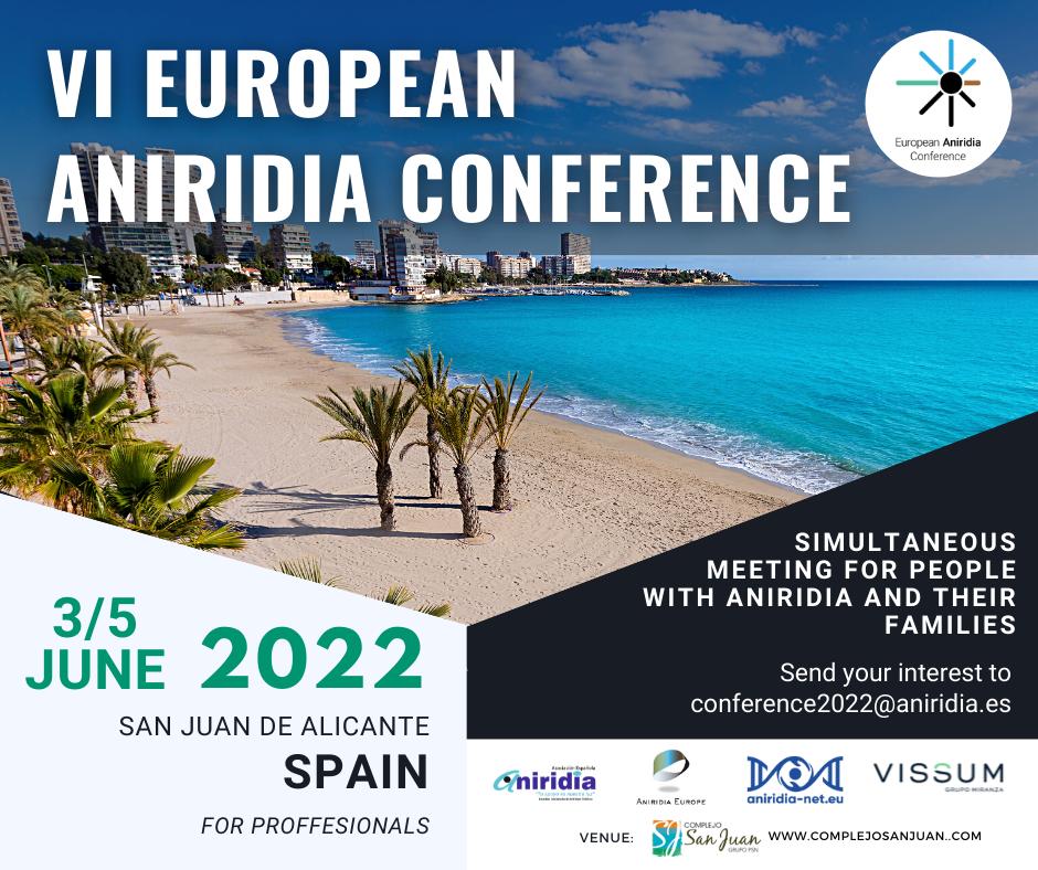 european aniridia conference 2022